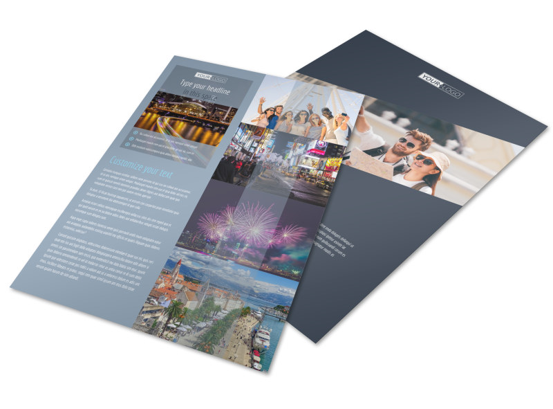 City Tour Flyer Template Preview 4