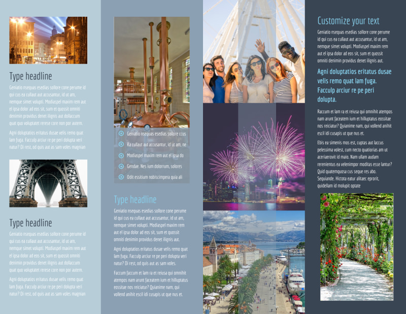 City Tour Brochure Template Preview 3