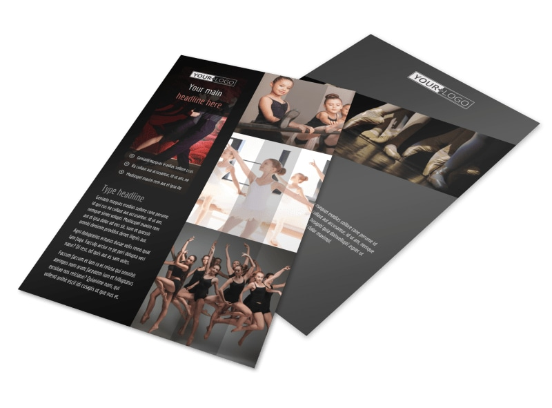 Dance Lessons Flyer Template 3
