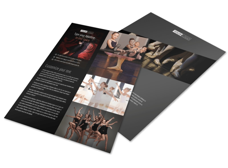 Dance Lessons Flyer Template Preview 4