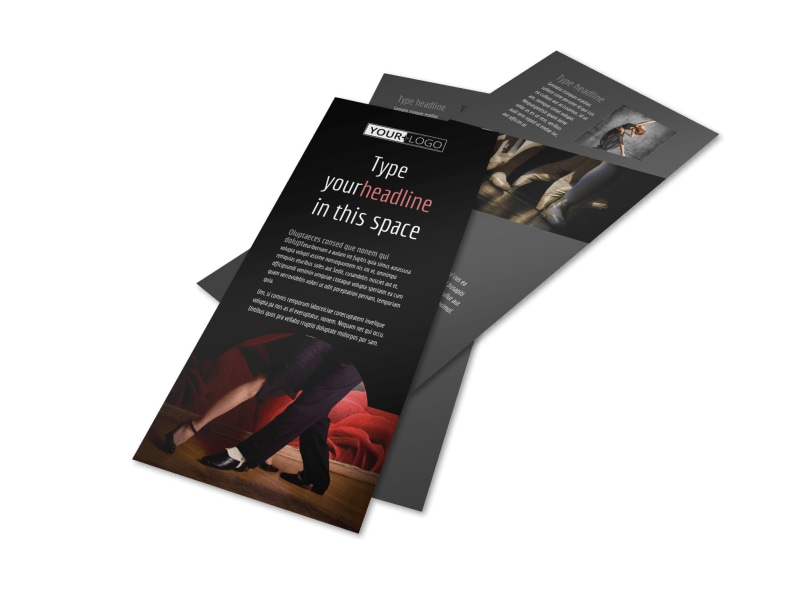 Dance Lessons Flyer Template 2
