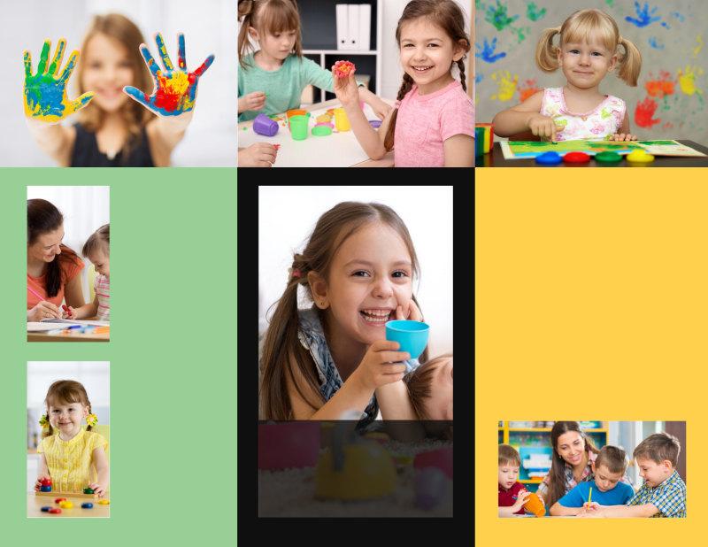 Preschool Services Brochure Template Preview 3