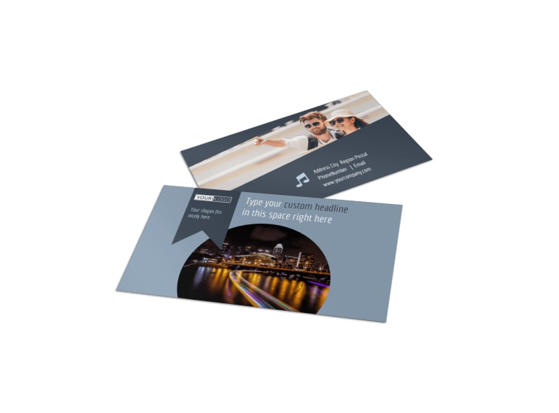 City Tour Business Card Template
