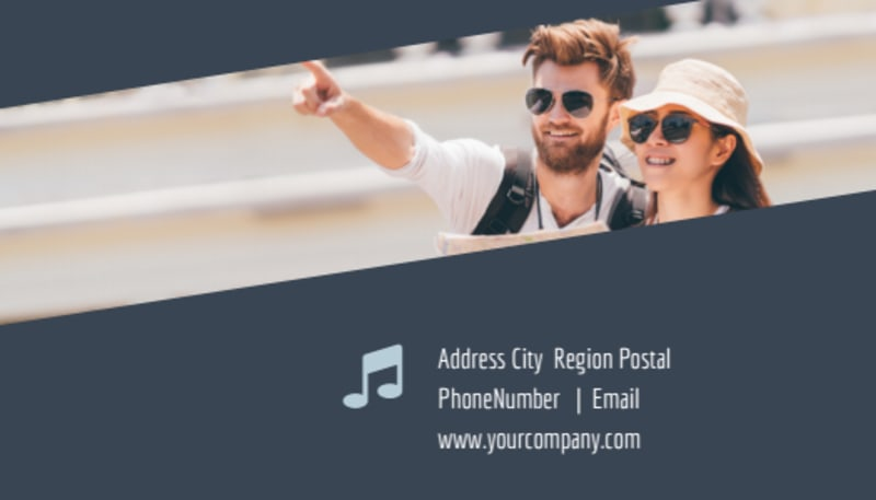City Tour Business Card Template Preview 3