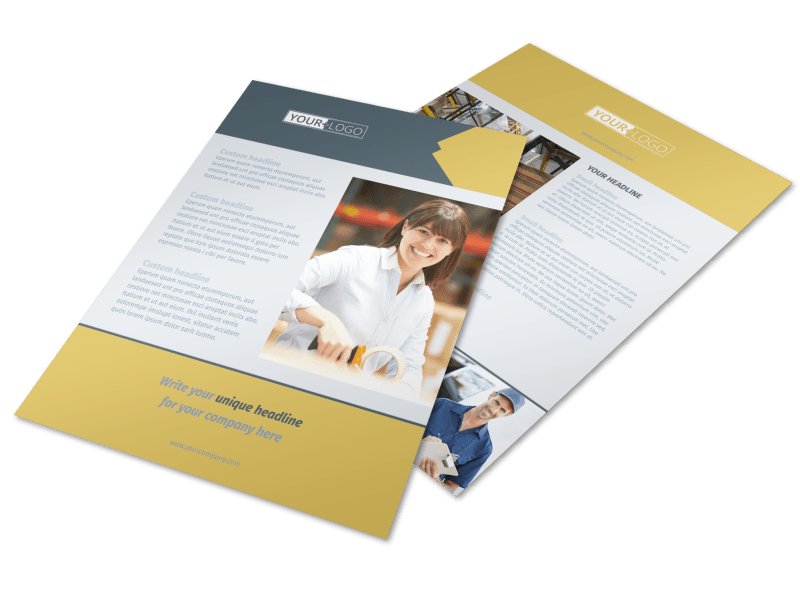 how to make a flyer to promote your business