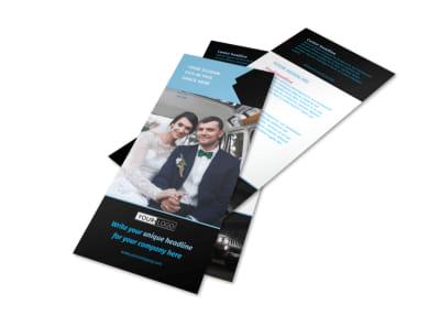 Limousine & Taxi Service Flyer Template 2