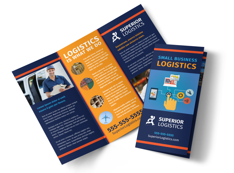 Logistics company brochure template mycreativeshop logistics company brochure template saigontimesfo