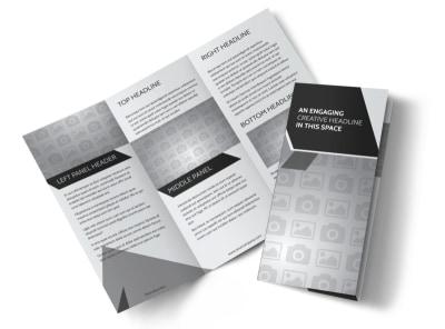 Generic Tri-Fold Brochure Template 10361