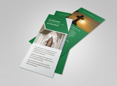 General Church 3 Flyer Template 2 preview