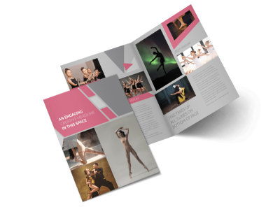 Creative Dance School Bi-Fold Brochure Template 2 preview