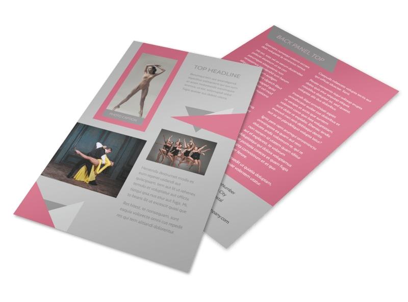 Creative Dance School Flyer Template 3