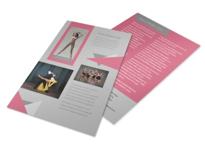 Creative Dance School Flyer Template 3