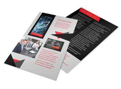 HR Consulting Services Flyer Template 3