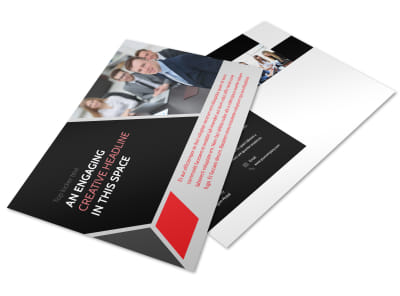 HR Consulting Services Postcard Template