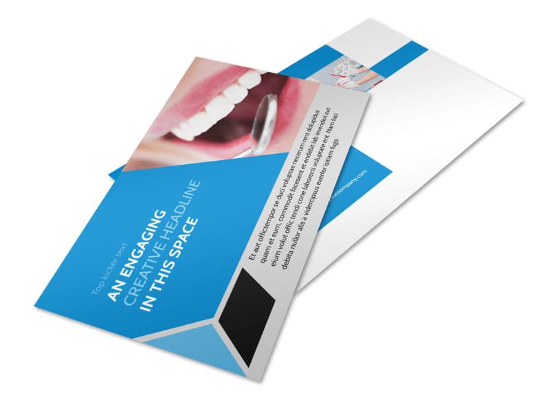Dental Practice Postcard Template 2