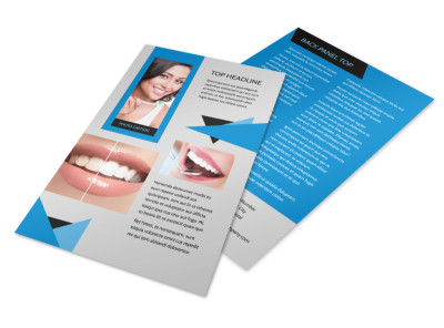 Dental Practice Flyer Template 3
