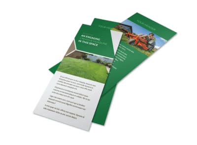 Green Lawn Care Flyer Template 2