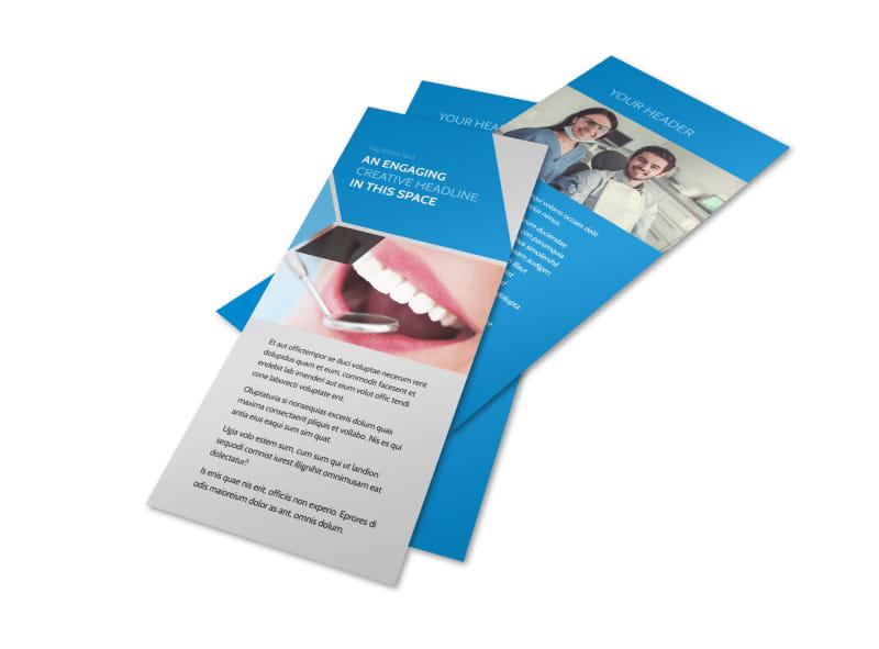 Dental Practice Flyer Template 2