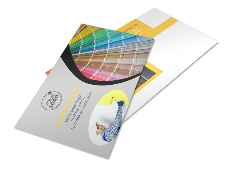 House Painting Contractor Postcard Template 2
