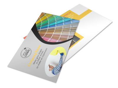 House Painting Contractor Postcard Template 2 preview
