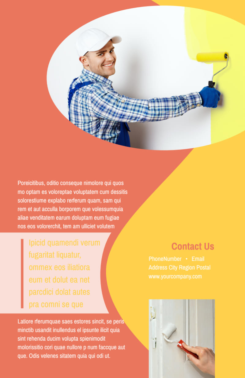 House Painters Flyer Template Preview 3