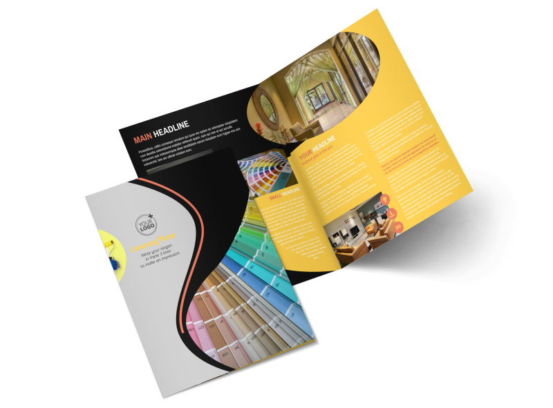 House Painters Brochure Template Preview 1