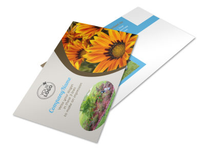 Landscape & Garden Store Postcard Template 2 preview