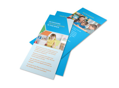 Fun Preschool Flyer Template 2
