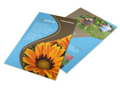 Landscape & Garden Store Flyer Template 3