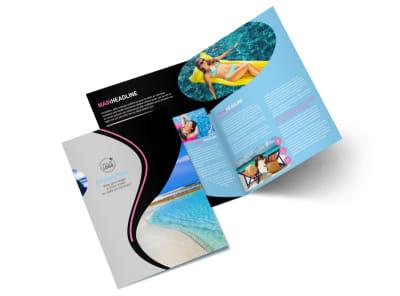 Tanning Salon Bi-Fold Brochure Template 2 preview