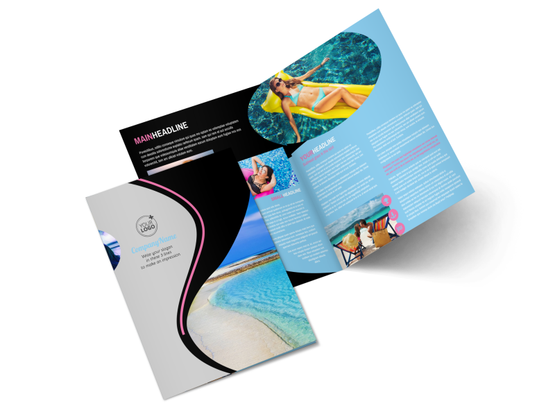 Tanning Salon Brochure Template Preview 1