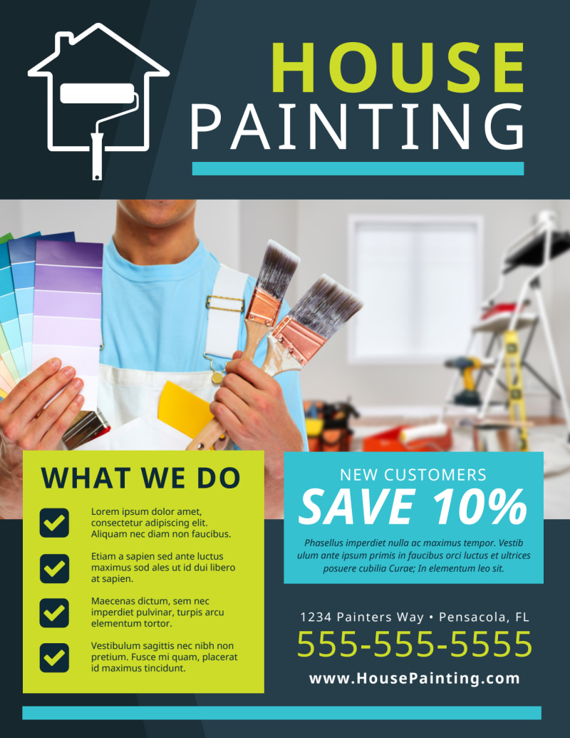 House Painters Flyer Template Preview 2