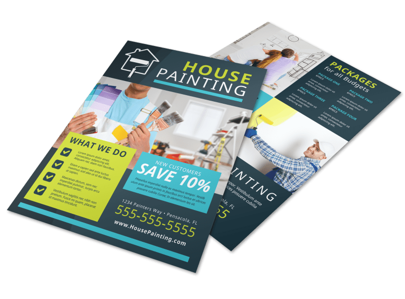 House Painters Flyer Template Preview 1