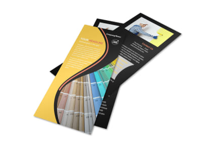 House Painting Contractor Flyer Template 2
