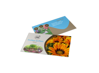 Landscape & Garden Store Business Card Template