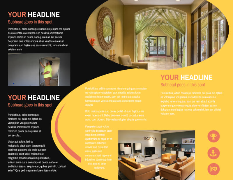 House Painters Brochure Template Preview 3