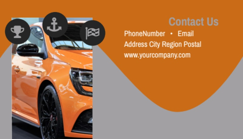 Sport Car Detailing Business Card Template Preview 3