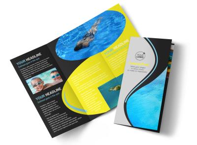 Snorkeling Adventure Tri-Fold Brochure Template