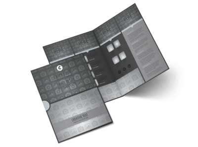 Generic Bi-Fold Brochure Template 10463 preview