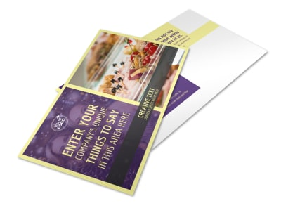 Office Party Postcard Template 2 preview