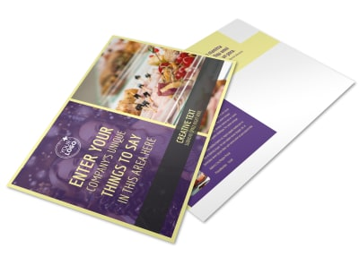 Office Party Postcard Template preview
