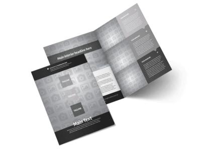 Generic Bi-Fold Brochure Template 10472