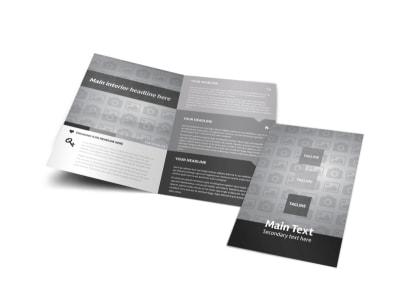 Generic Bi-Fold Brochure Template 10476