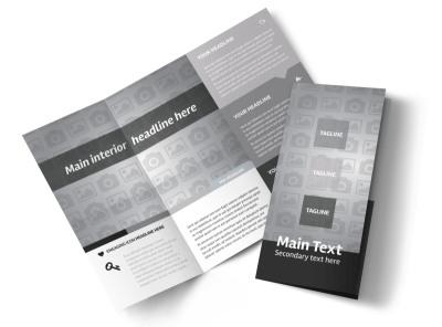 Generic Tri-Fold Brochure Template 10478