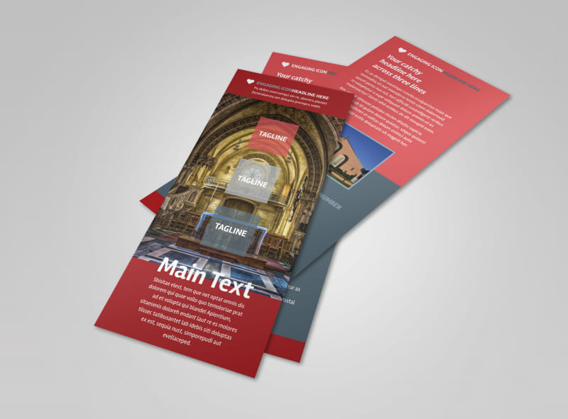 Service Info Flyer Template Preview 4