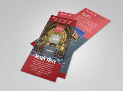 Service Info Flyer Template 2 preview