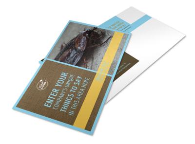 Exterminator Postcard Template 2