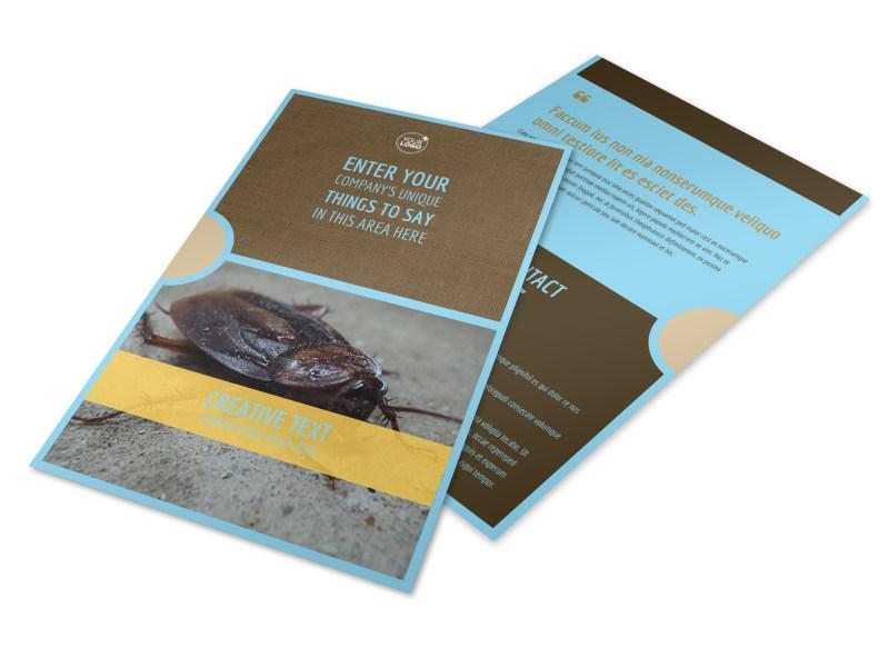 Exterminator Flyer Template 3