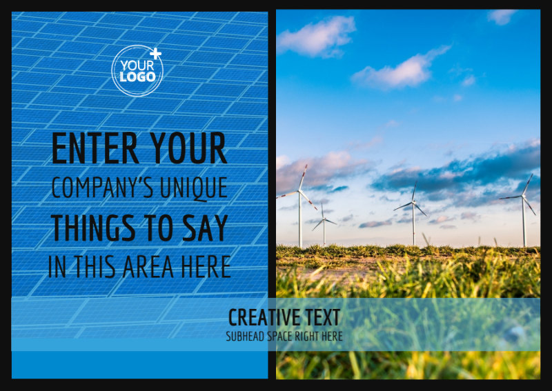 Eco Investments Postcard Template Preview 2