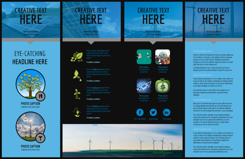 Eco Investments Brochure Template Preview 3